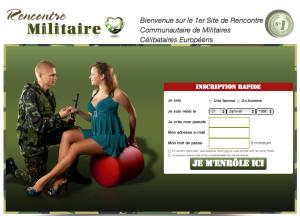 Militaire site de rencontre en ligne