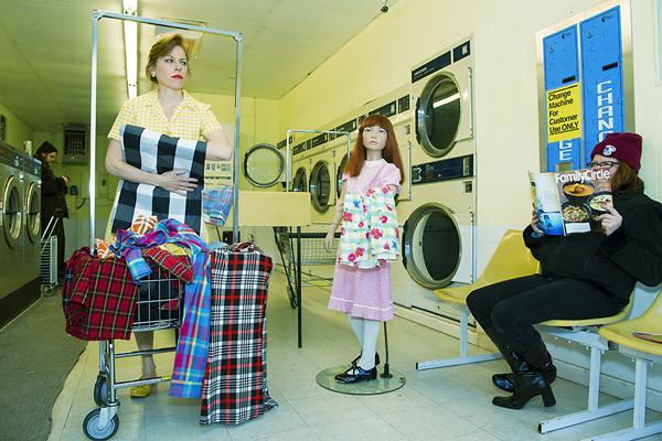 Suzanne Heintz machine à laver